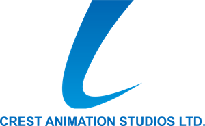 Crest Animation Studios Logo Vector