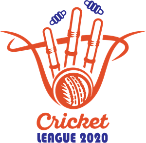 Cricket league Logo Vector