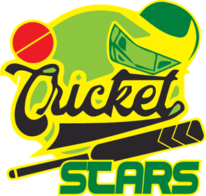 Cricket Star Logo Vector