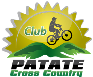 Cross Country Patate Logo Vector