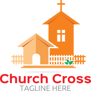 Cruch Cross Logo Vector