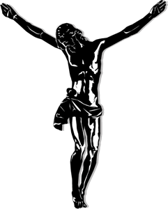 crucificado Logo Vector