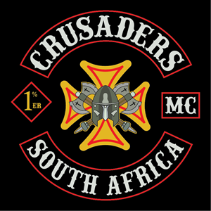 Crusaders Motorcycle Club Logo Vector