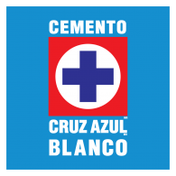 Cruz Azul Blanco Logo Vector