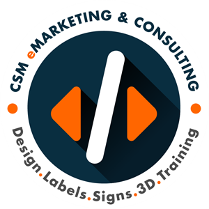 CSM eMarketing and Consulting Logo Vector