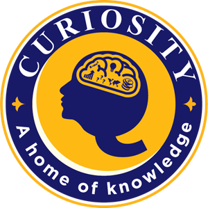 CURIOSITY (A HOME OF KNOWLEDGE) Logo Vector