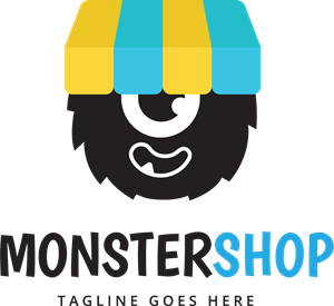 monster logo vector download awesome graphic library