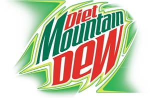 DIET MOUNTAIN DEW Logo Vector