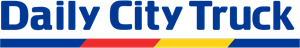 Daily City Truck Logo Vector