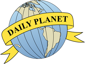 Daily Planet Logo Vector