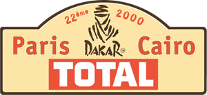 Dakar Rally 2000 Logo Vector