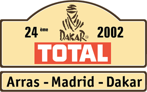 Dakar Rally 2002 Logo Vector