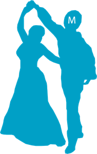 Dancing with Michael Logo Vector