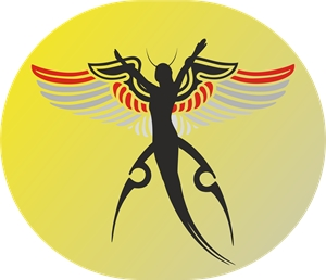 Dark angel Logo Vector