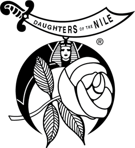Daughters of the Nile Logo Vector