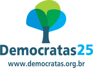 Democratas 25 Site Logo Vector