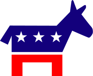 Democratic Party Logo Vector