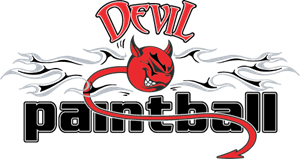 Devil Paintball Logo Vector