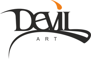 Devil art Logo Vector