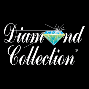 Diamond Collection Logo Vector