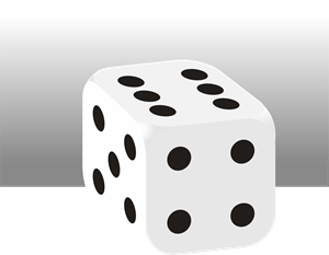 Dice Logo Vector