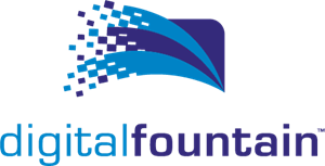 Digital Fountain Logo Vector