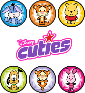 Disney Cuties Logo Vector
