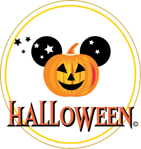 Disney Halloween Logo Vector