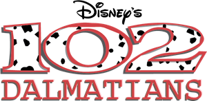 Disney's 102 Dalmations Logo Vector