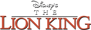 Disney's The Lion King Logo Vector