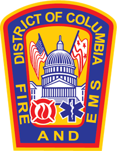 District of Columbia Fire Department Logo Vector