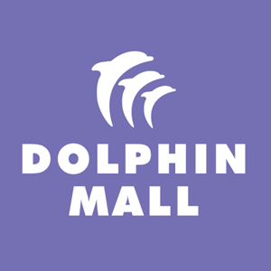 Dolphin Mall Logo Vector
