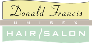 Donald Francis Hair Salon Logo Vector