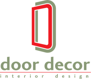 Door Decor Logo Vector