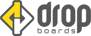 Drop Boards Logo Vector