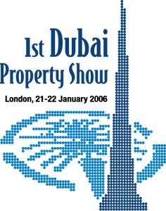 Dubai Property Show London Logo Vector