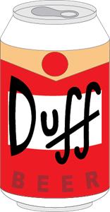 Duff Beer Logo Vector