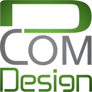 D COM Design Logo Vector