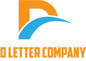 D Letter Company Logo Vector