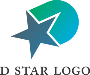 D Star Logo Vector