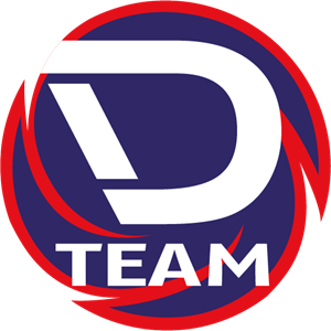 D Team Logo Vector