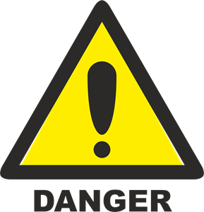 DANGER SIGN Logo Vector