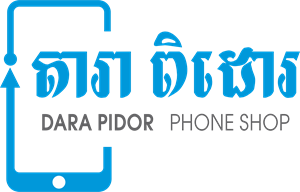 Dara Pidor Phone Shop Logo Vector
