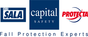 DBI SALA CAPITAL SAFETY PROTECTA - Fall Protection Logo Vector