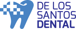 De Los Santos Dental Logo Vector