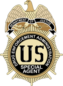 DEA badge Logo Vector