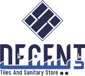 Decent Tiles And Sanitary Store Logo Vector
