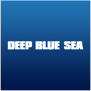 Deep Blue Sea Logo Vector