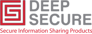 Deep Secure Logo Vector