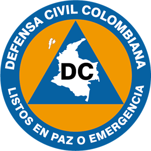 Defensa Civil Colombia Logo Vector